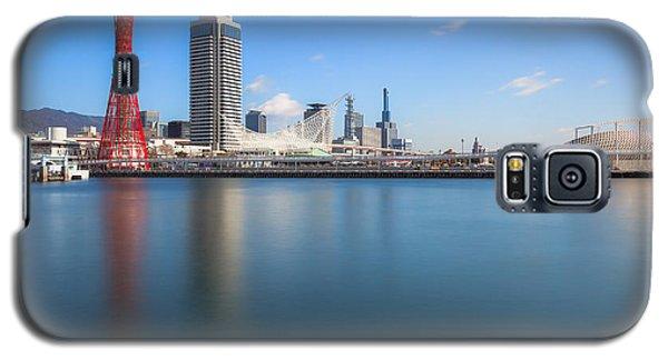 Galaxy S5 Case featuring the photograph Kobe Port Island Tower by Hayato Matsumoto