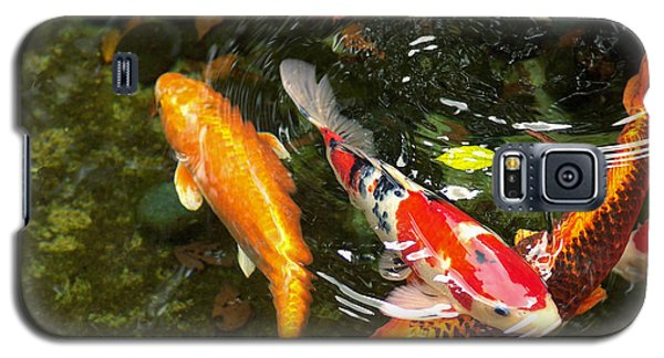 Galaxy S5 Case featuring the photograph Koi Fish Japan by John Swartz