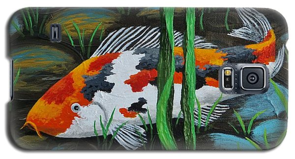 Koi Fish Galaxy S5 Case by Katherine Young-Beck