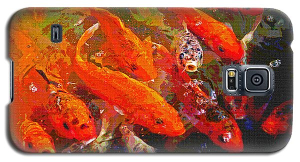 Koi Fish  Galaxy S5 Case by Tom Janca
