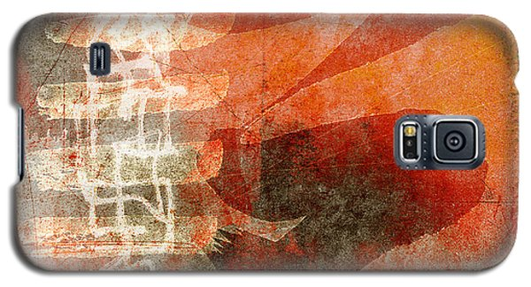 Koi In Orange Galaxy S5 Case