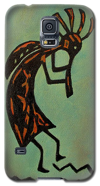 Kokopelli Flute Player Galaxy S5 Case by Roseann Gilmore