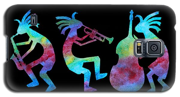 Kokopelli Jazz Trio Galaxy S5 Case by Jenny Armitage