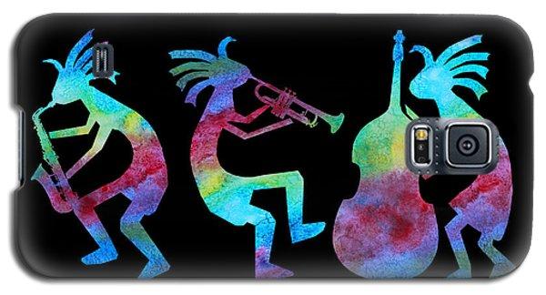 Music Galaxy S5 Case - Kokopelli Jazz Trio by Jenny Armitage