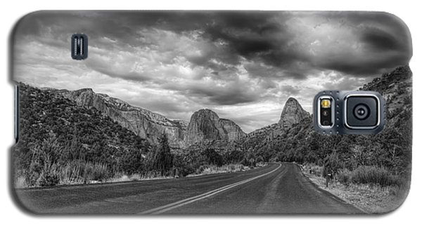 Kolob Canyon Black And White Galaxy S5 Case