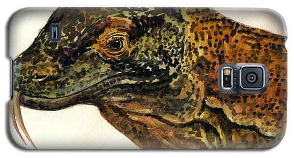 Dragon Galaxy S5 Case - Komodo Monitor by Juan  Bosco