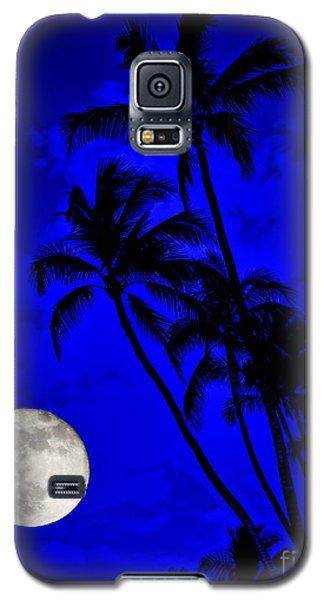 Kona Moon Rising Galaxy S5 Case by David Lawson