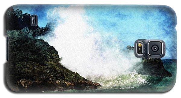 Galaxy S5 Case featuring the photograph Kona Sea by Athala Carole Bruckner