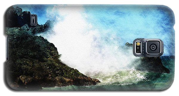 Kona Sea Galaxy S5 Case by Athala Carole Bruckner