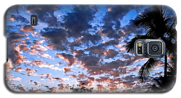 Galaxy S5 Case featuring the photograph Kona Sunset by David Lawson