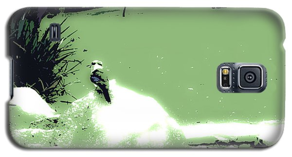 Kookaburra I Galaxy S5 Case by Cassandra Buckley