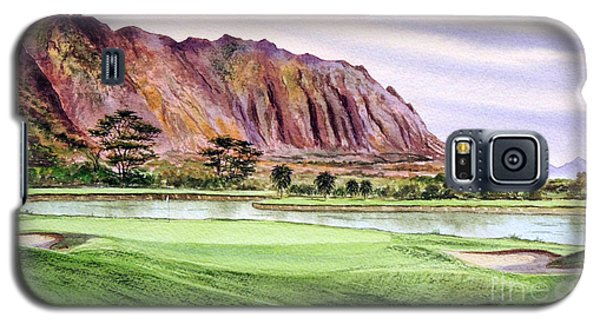 Koolau Golf Course Hawaii 16th Hole Galaxy S5 Case
