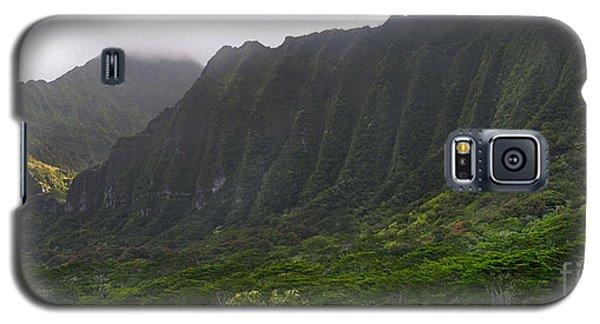 Ko'olau Mountain Range Galaxy S5 Case by Gina Savage