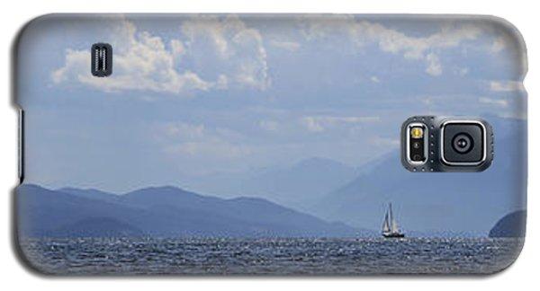 Kootenay Sail Galaxy S5 Case by Cathie Douglas