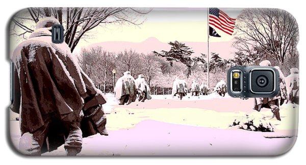 Korean War Memorial Galaxy S5 Case by Charles Shoup