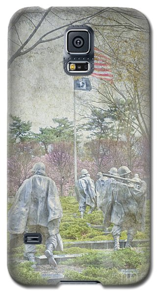 Korean War Veterans Memorial Washington Dc Beautiful Unique   Galaxy S5 Case by David Zanzinger