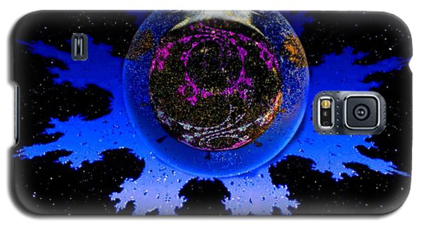Galaxy S5 Case featuring the digital art Krishna Conciousness by Steed Edwards