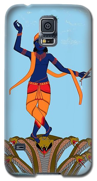 Krishna Dancing On Kaliya Galaxy S5 Case