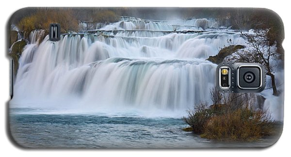 Krka Waterfalls Galaxy S5 Case