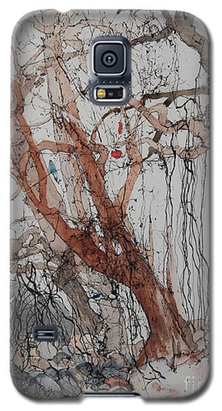 Galaxy S5 Case featuring the painting Kudzu Winter by Elizabeth Carr