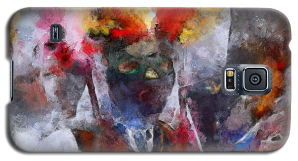 Galaxy S5 Case featuring the painting Kuker by Georgi Dimitrov
