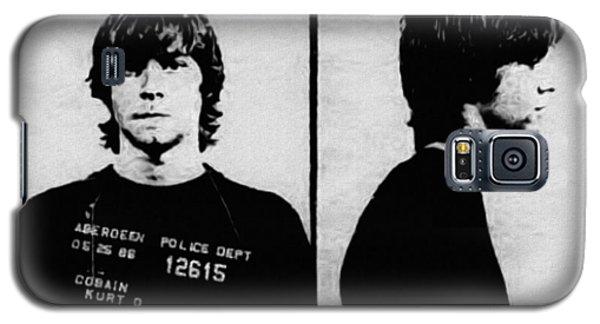 Kurt Cobain Mugshot Galaxy S5 Case