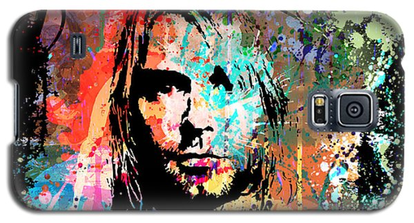 Kurt Cobain Portrait Galaxy S5 Case