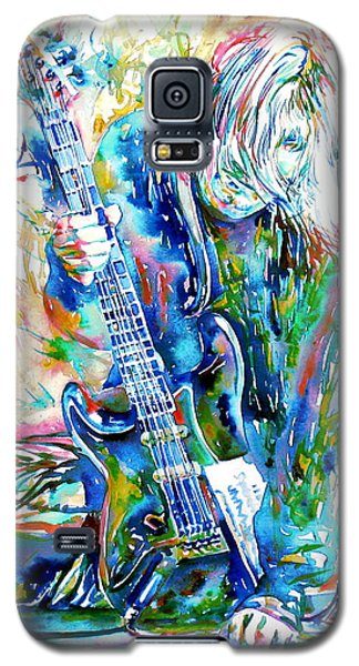 Kurt Cobain Portrait.1 Galaxy S5 Case