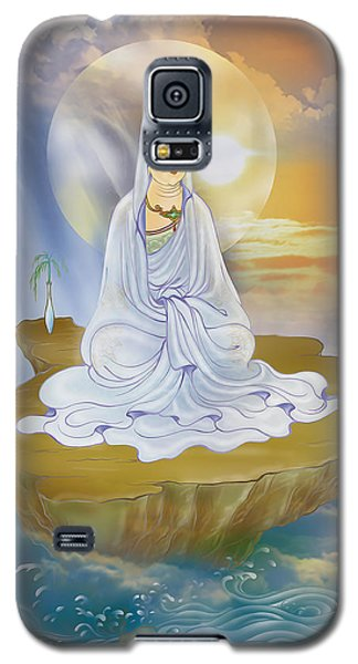 Kwan Yin - Goddess Of Compassion Galaxy S5 Case by Lanjee Chee