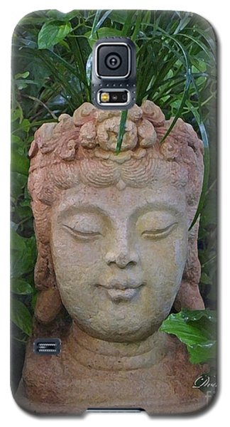 Galaxy S5 Case featuring the photograph Kwan Yin Goddess Of Mercy by Dodie Ulery