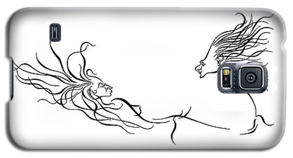 L Chaim Galaxy S5 Case by Dan Redmon