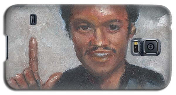 Galaxy S5 Case featuring the painting L Is For Lando by Jessmyne Stephenson