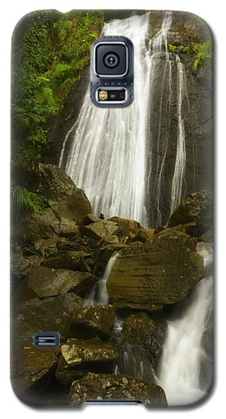 Galaxy S5 Case featuring the photograph La Coca Falls  by Photography  By Sai