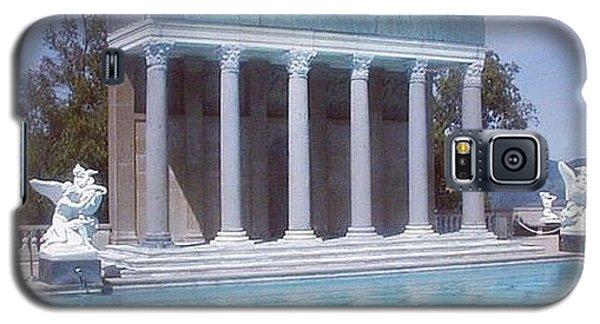 School Galaxy S5 Case - La Dolce Vita At Hearst Castle - San Simeon Ca by Anna Porter