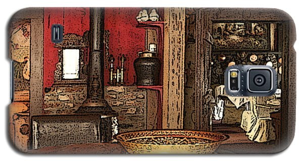 La Ferme Restaurant In Genoa Nevada Galaxy S5 Case by Artist and Photographer Laura Wrede