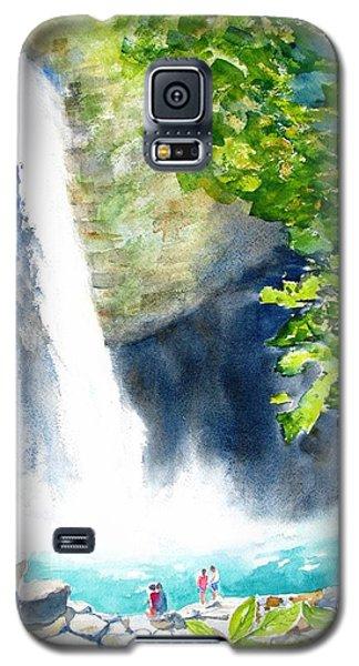 La Fortuna Waterfall Galaxy S5 Case by Carlin Blahnik