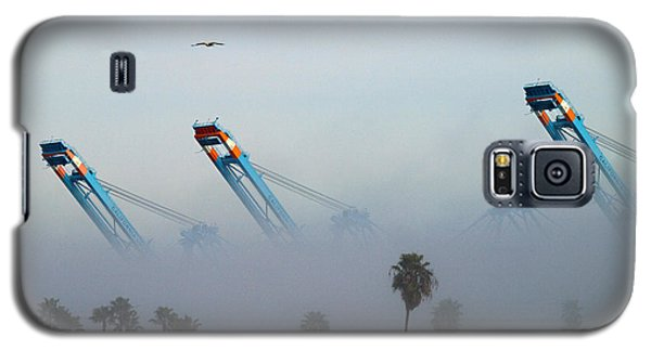 La Harbor Never Sleeps Galaxy S5 Case