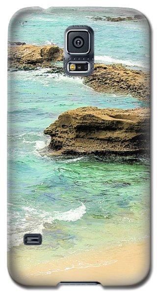 La Jolla Beach Rocks Galaxy S5 Case