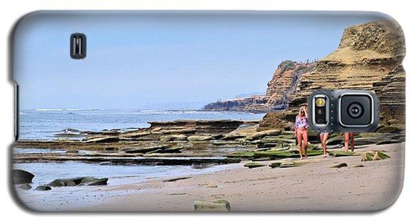 La Jolla Beach Walk Galaxy S5 Case