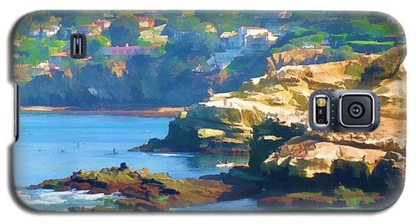 La Jolla California Cove And Caves Galaxy S5 Case by Douglas MooreZart
