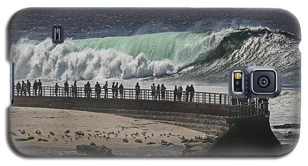 La Jolla Monster Surf Galaxy S5 Case