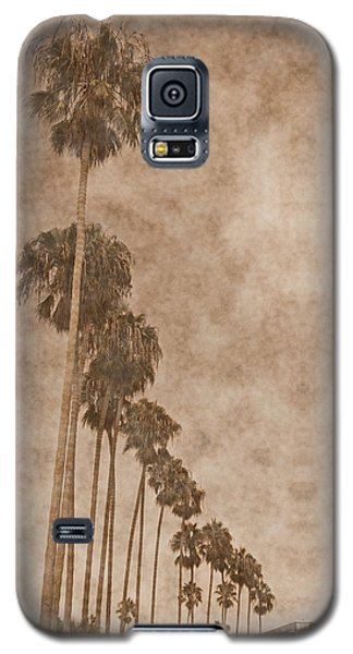 La Jolla Palm Trees Galaxy S5 Case