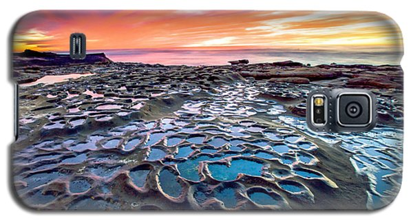 Galaxy S5 Case featuring the photograph La Jolla Potholes by Robert  Aycock