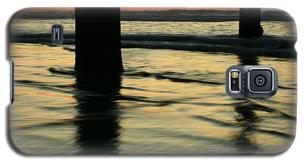 Galaxy S5 Case featuring the photograph La Jolla Shores Sunset by John F Tsumas