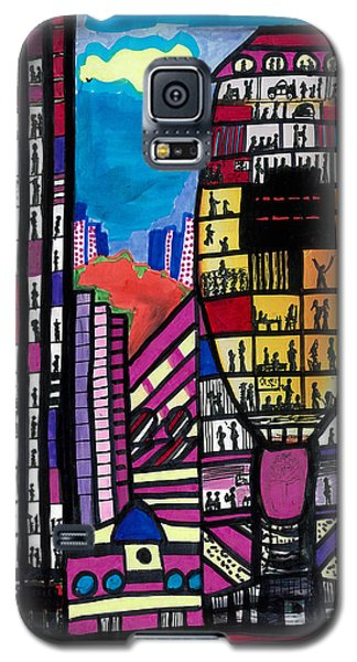 Galaxy S5 Case featuring the digital art La Lifestyle by Don Koester