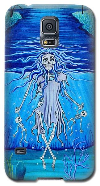 La Llorona Arrepentida Galaxy S5 Case by Evangelina Portillo