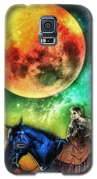 La Luna Galaxy S5 Case by Mo T