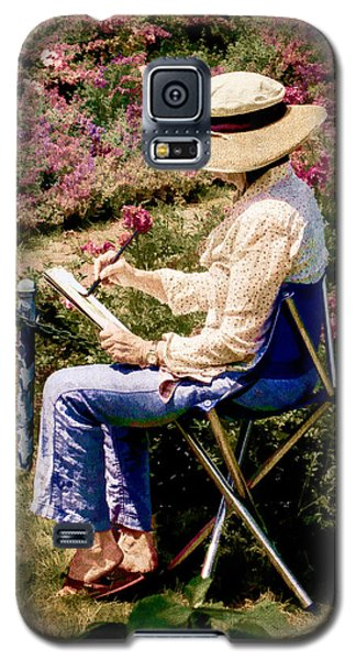 Galaxy S5 Case featuring the photograph La Peintre by Chris Lord