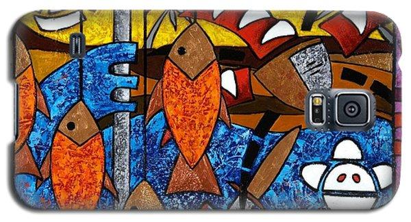 La Pesca Virgen De Un Hombre Honrado Galaxy S5 Case