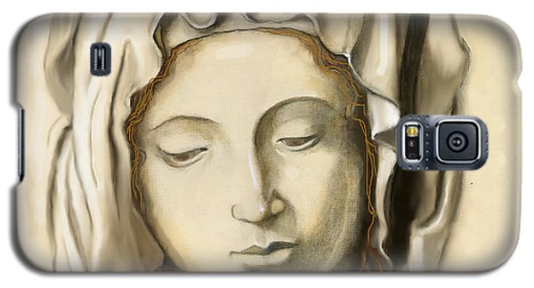 Galaxy S5 Case featuring the painting La Pieta 2 by Terry Webb Harshman